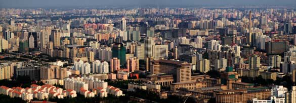 panorama of beijing
