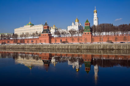 river view of The Kremlin