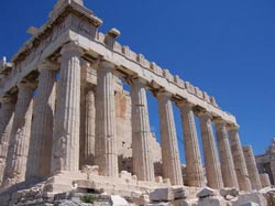 Crumbling Athens