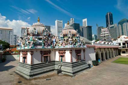 traditoinal Singaporean temple